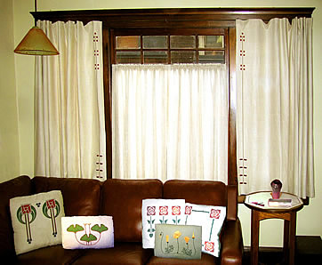 Arts And Crafts Window Treatments